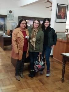 Visita a las salas museográficas